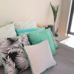 Mint Green Throw Pillows Homewares
