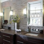 Modern Bathroom Sconce Height