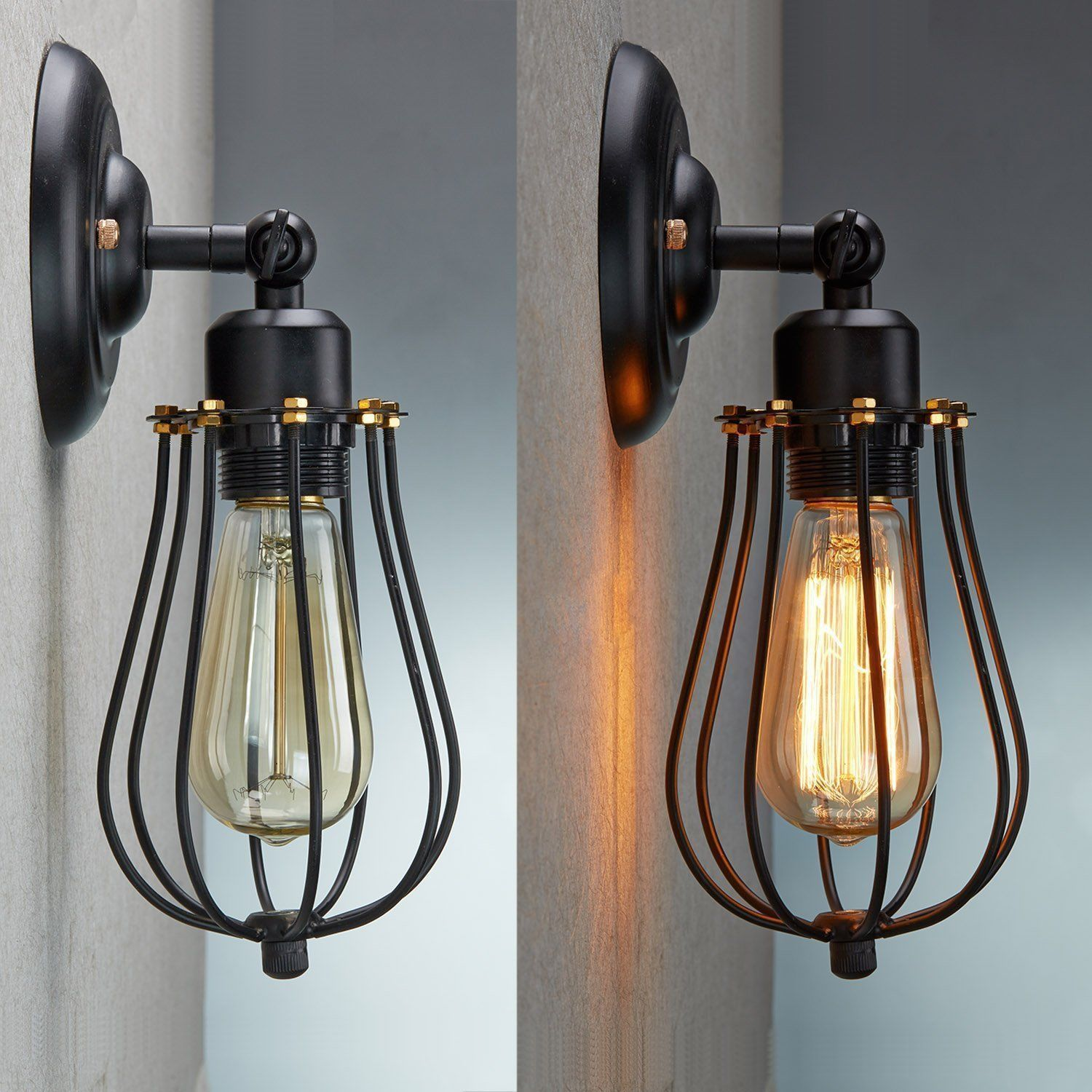 Image of: Modern Cage Sconce