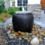 Modern DIY Outdoor Water Fountain