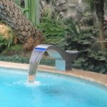 Modern DIY Pool Fountain