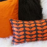 Modern Throw Pillows Orange