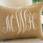 Monogram Pillow Bed