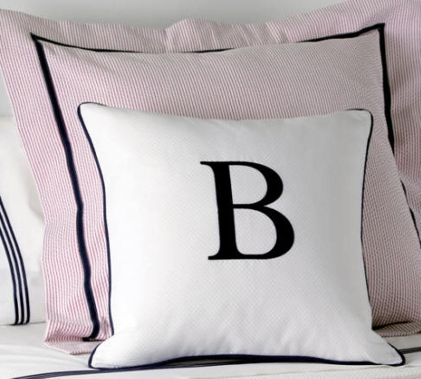Image of: Monogram Pillow Body