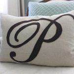 Monogram Pillow Cover Accent