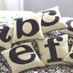 Monogram Pillow and Blanket