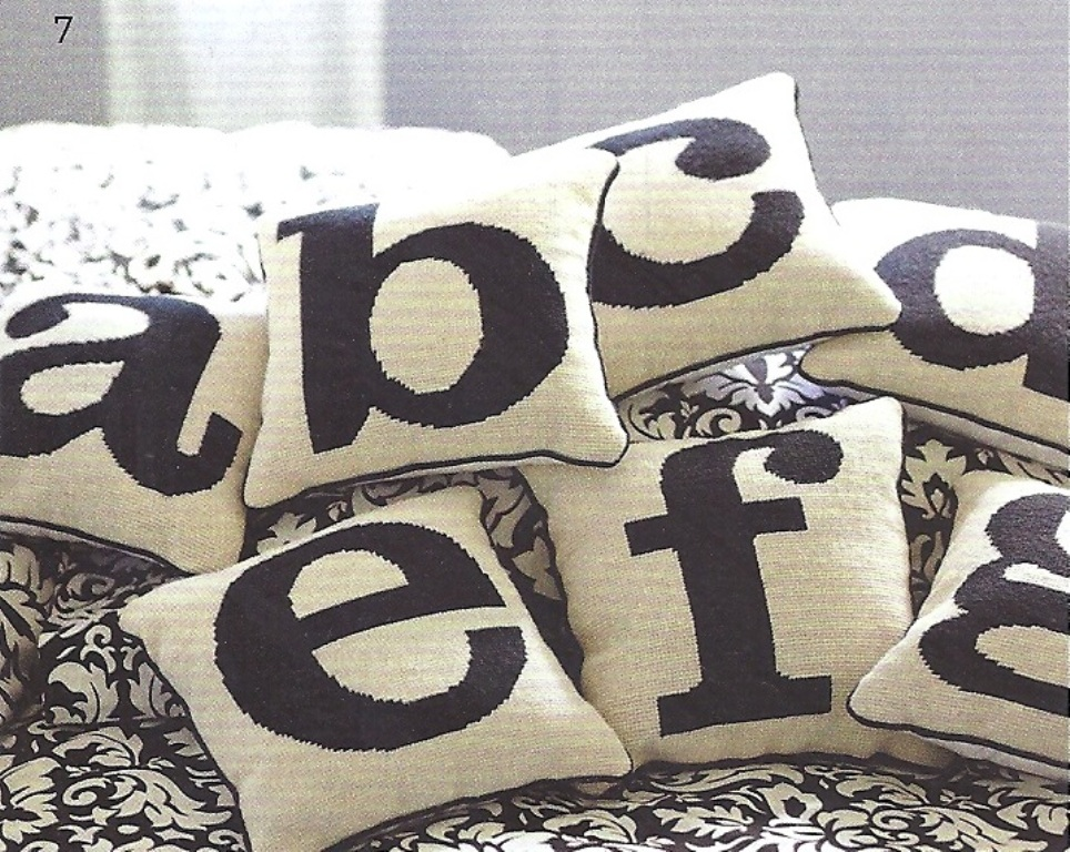 Image of: Monogram Pillow and Blanket