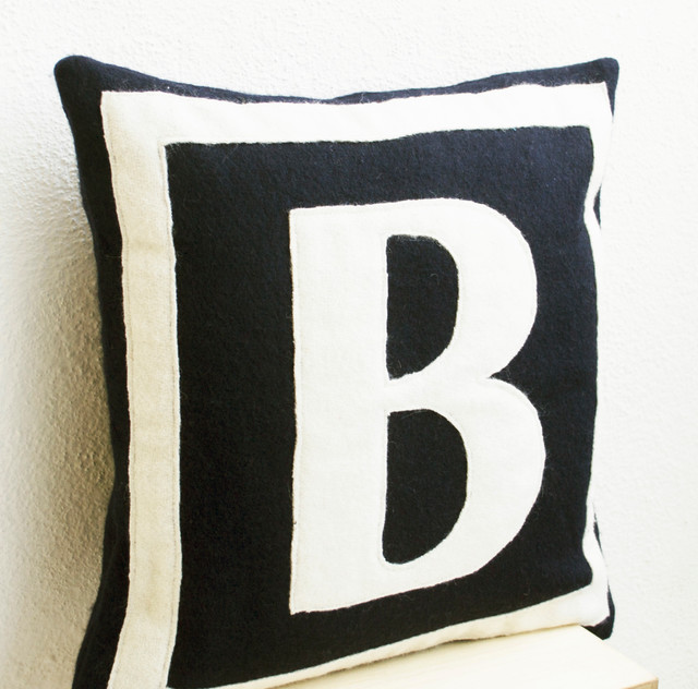 Image of: Monogrammed Pillows Pottery Barn
