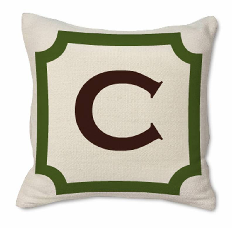 Image of: Monogrammed Pillows Target
