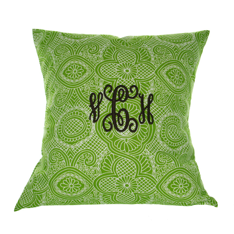 Image of: Monogrammed Pillows