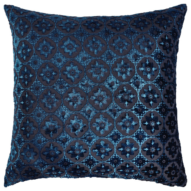 Image of: Moroccan Pillows Blue