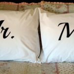 Mr and Mrs Pillows Bed