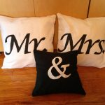 Mr and Mrs Pillows Colors