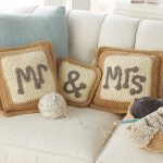 Mr and Mrs Pillows Cover Fabric