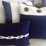 Nautical Pillows Blue