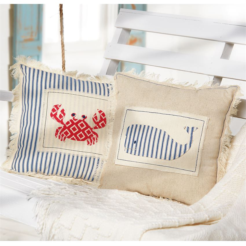 Image of: Nautical Pillows Colors