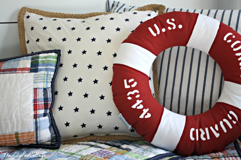 Image of: Nautical Pillows Home