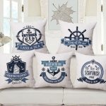Nautical Pillows Sofa