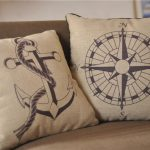 Nautical Throw Pillows Cover