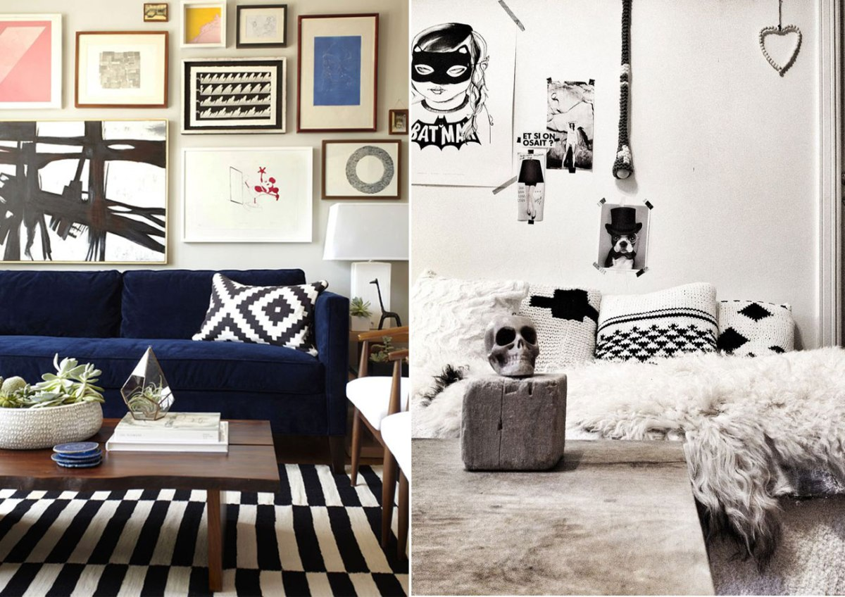 Image of: Nautical Throw Pillows Sofa