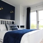 Navy Blue Throw Pillows Bedroom