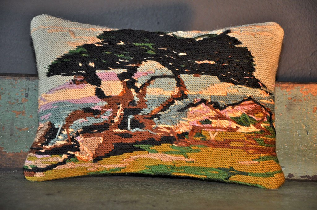 Image of: Needlepoint Pillows Abstract