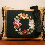 Needlepoint Pillows Flower