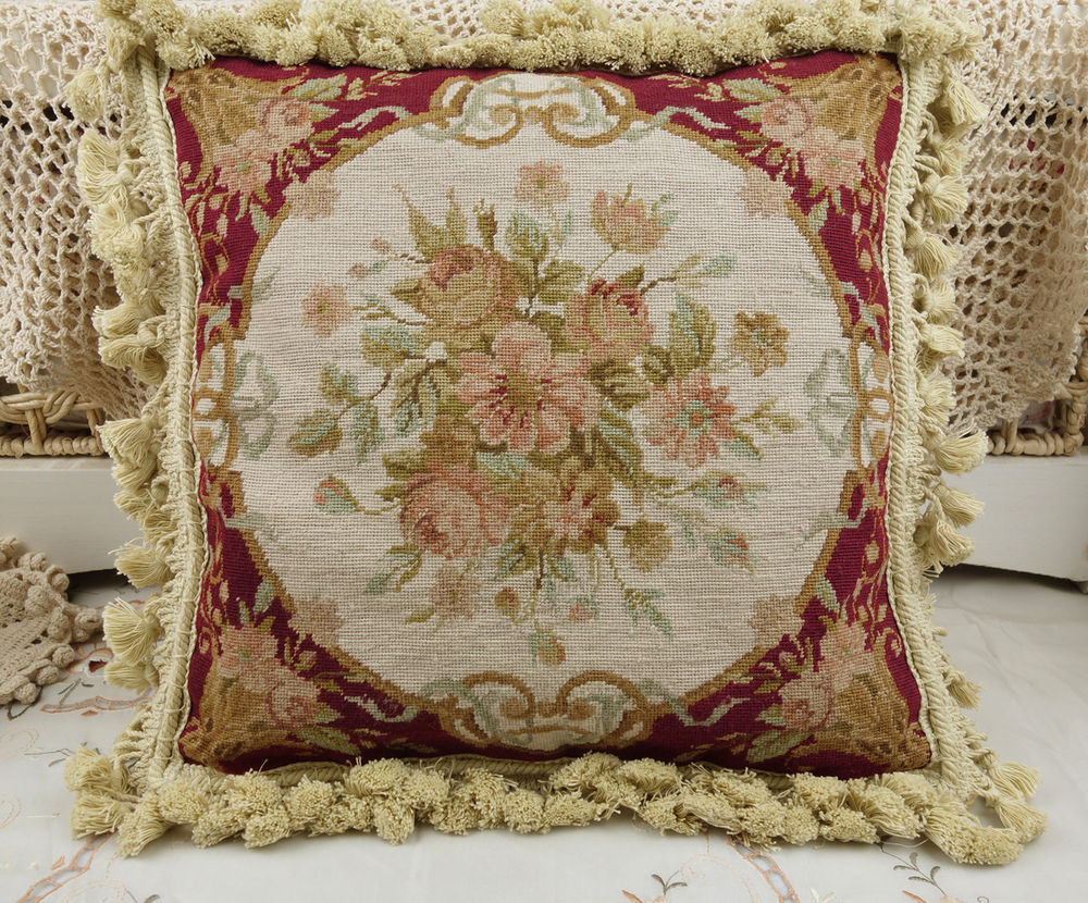 Image of: Needlepoint Pillows Handmade