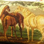 Needlepoint Pillows Horse