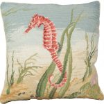Needlepoint Pillows Seahorse