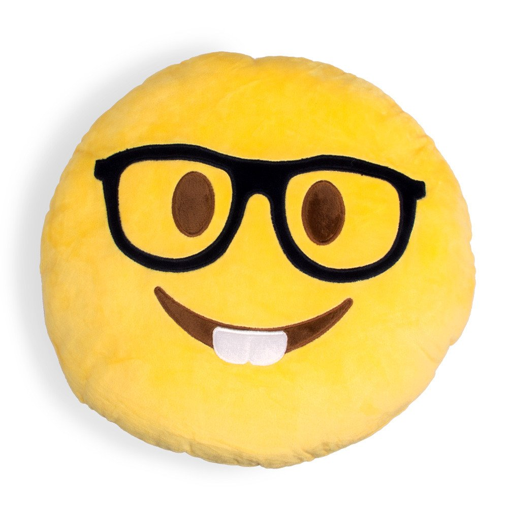 Image of: Nerdy Pillows Emoji