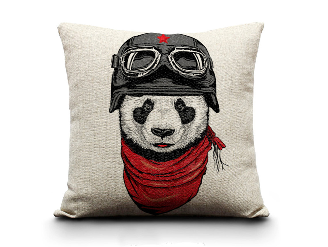 Image of: Nerdy Pillows Panda
