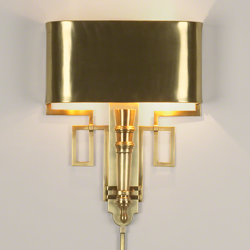 Image of: New Hardwired Wall Sconce