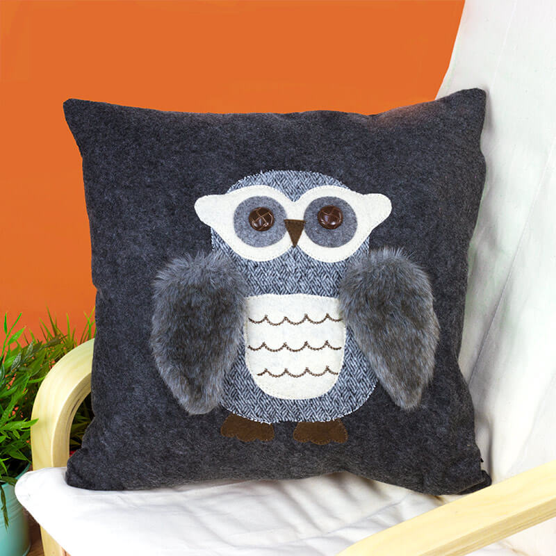 Image of: New Owl Pillow