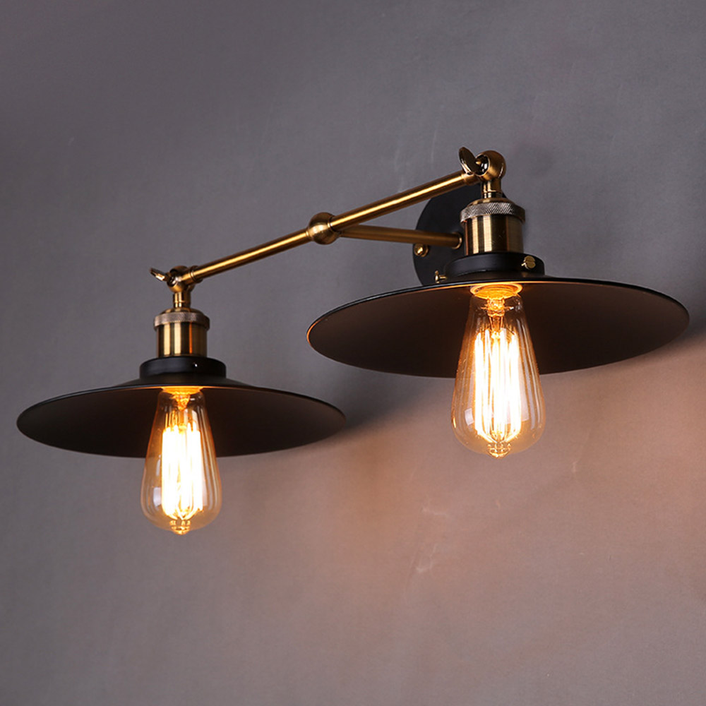 Nice Double Wall Sconce