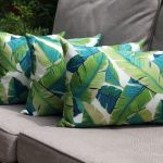 Nice Leaf Throw Pillows