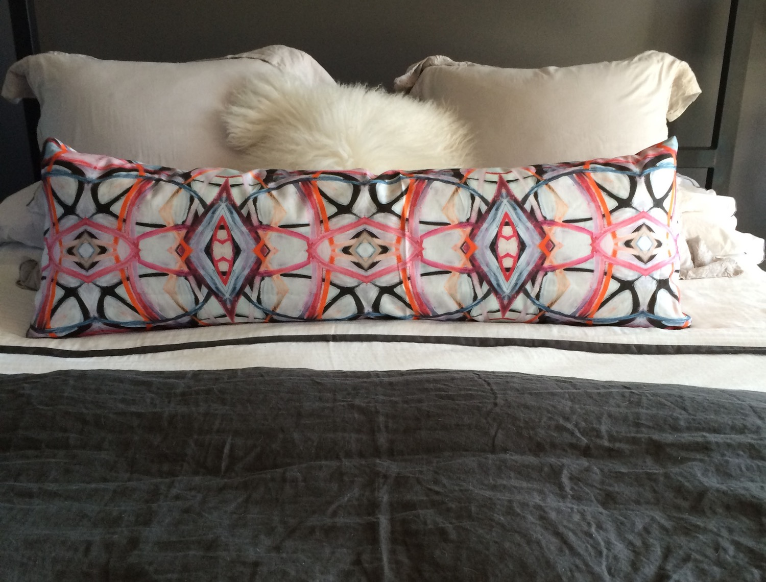 Image of: Nice Long Pillow