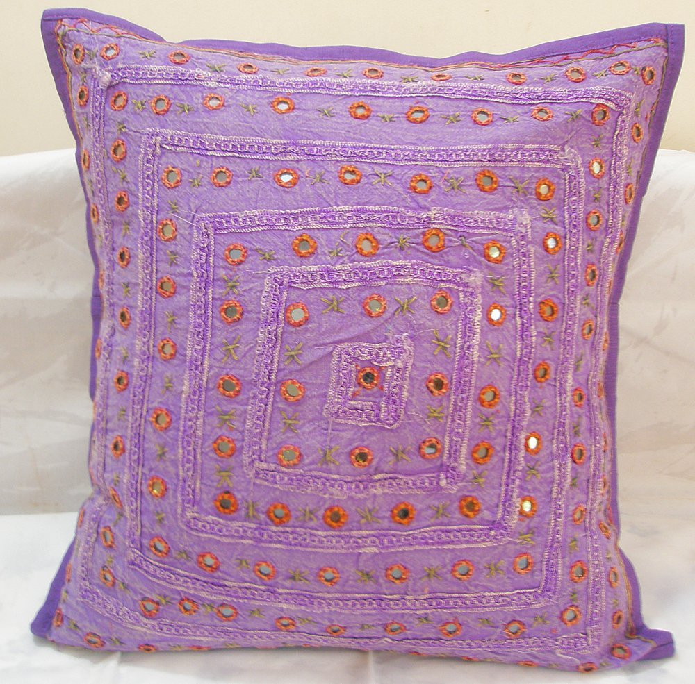 Image of: Pretty Purple Decorative Pillows
