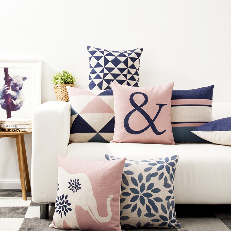 Image of: Nice Throw Pillows for Couch