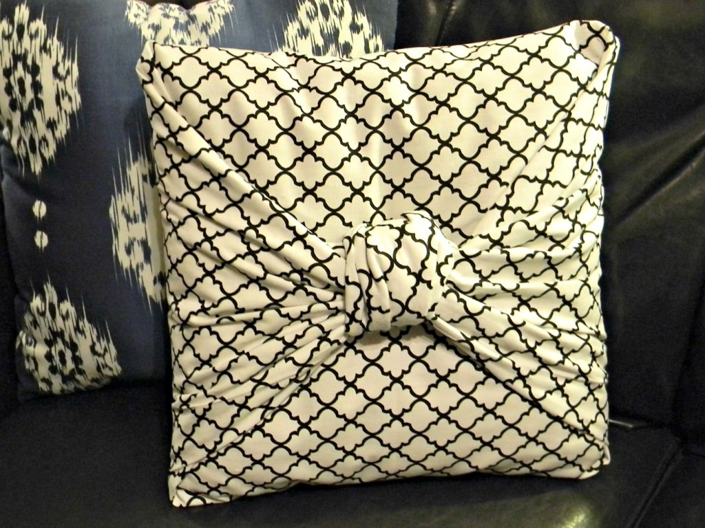 No Sew Pillow Covers Plan