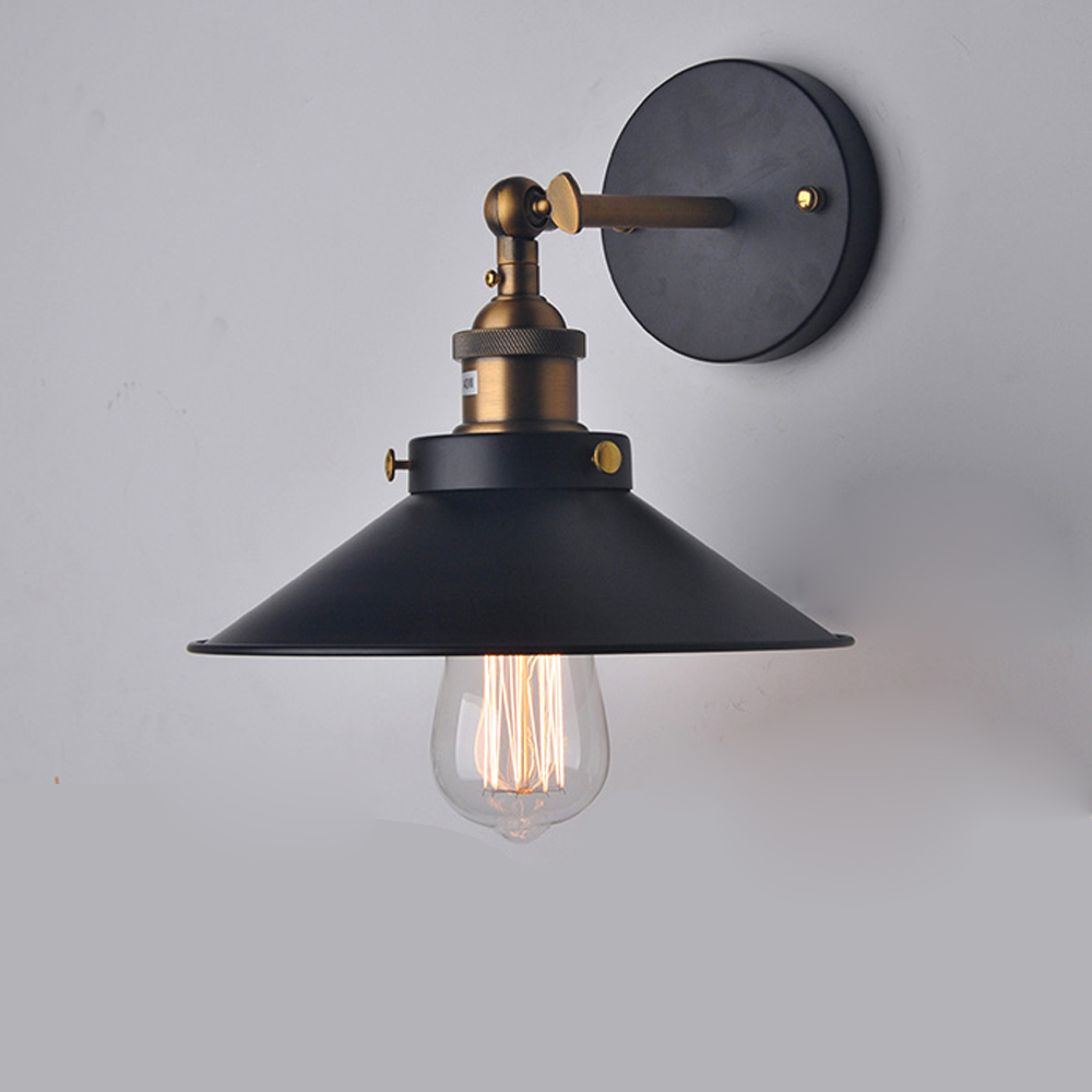 Image of: Nordic Country Industrial Wall Sconce Light