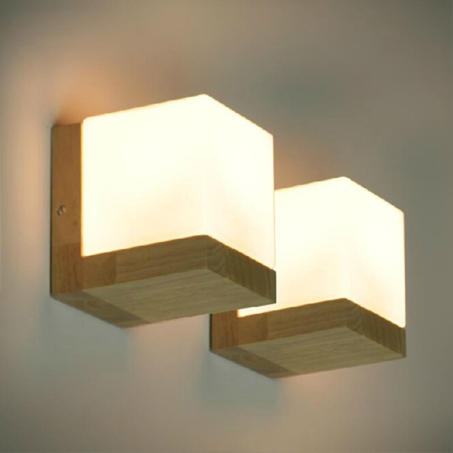 Image of: Oak IKEA Wall Sconces