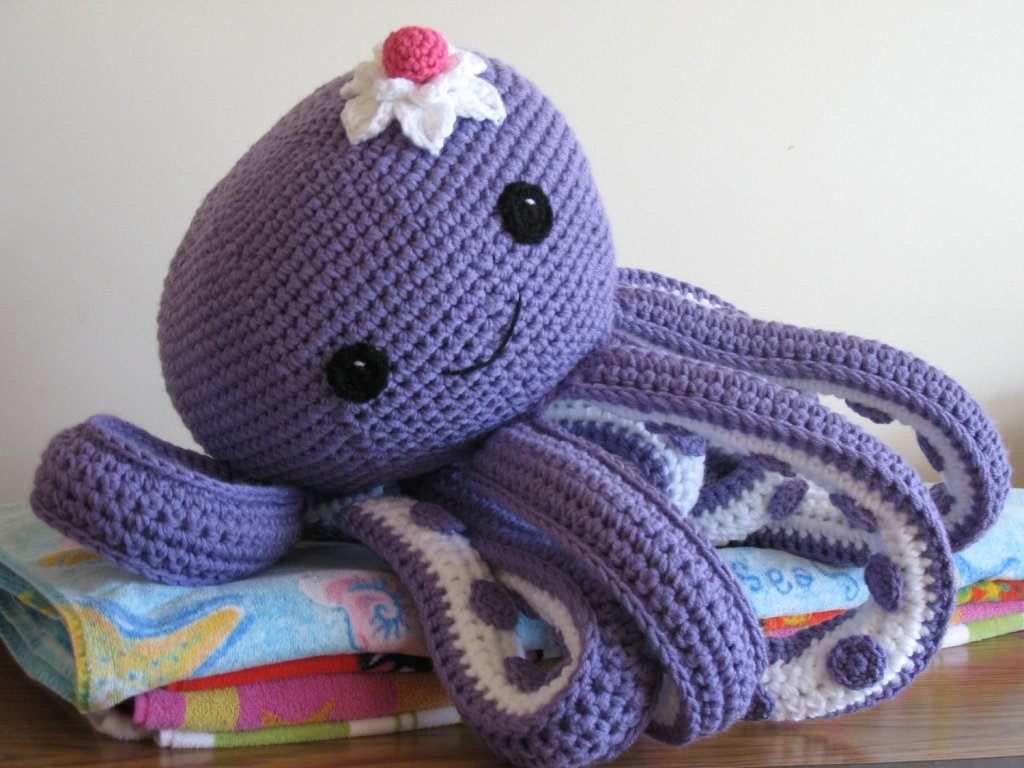 Image of: Octopus Pillow Pet