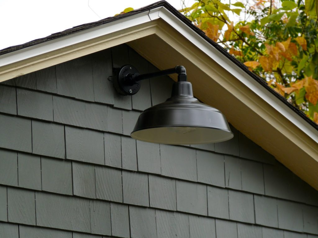 Image of: Outdoor Barn Light Sconce