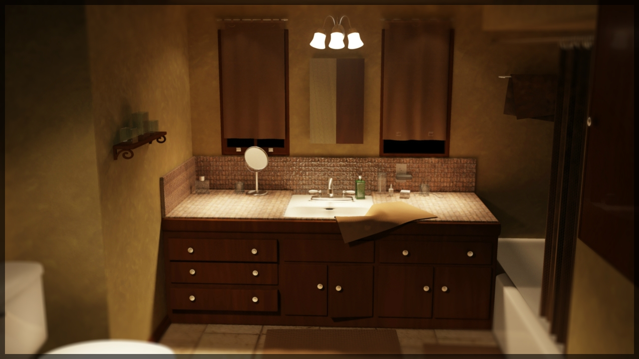Image of: Over Bathroom Vanity Sconces