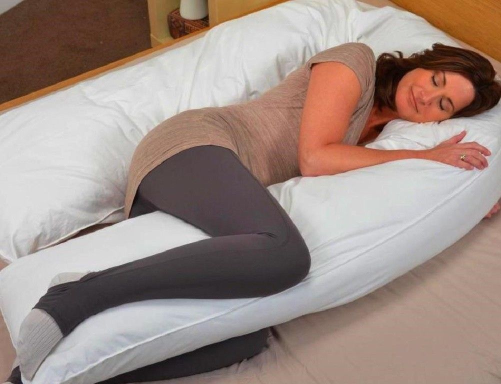 Image of: Oversized Pregnant Body Pillow