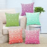 Pattern Mint Green Throw Pillows