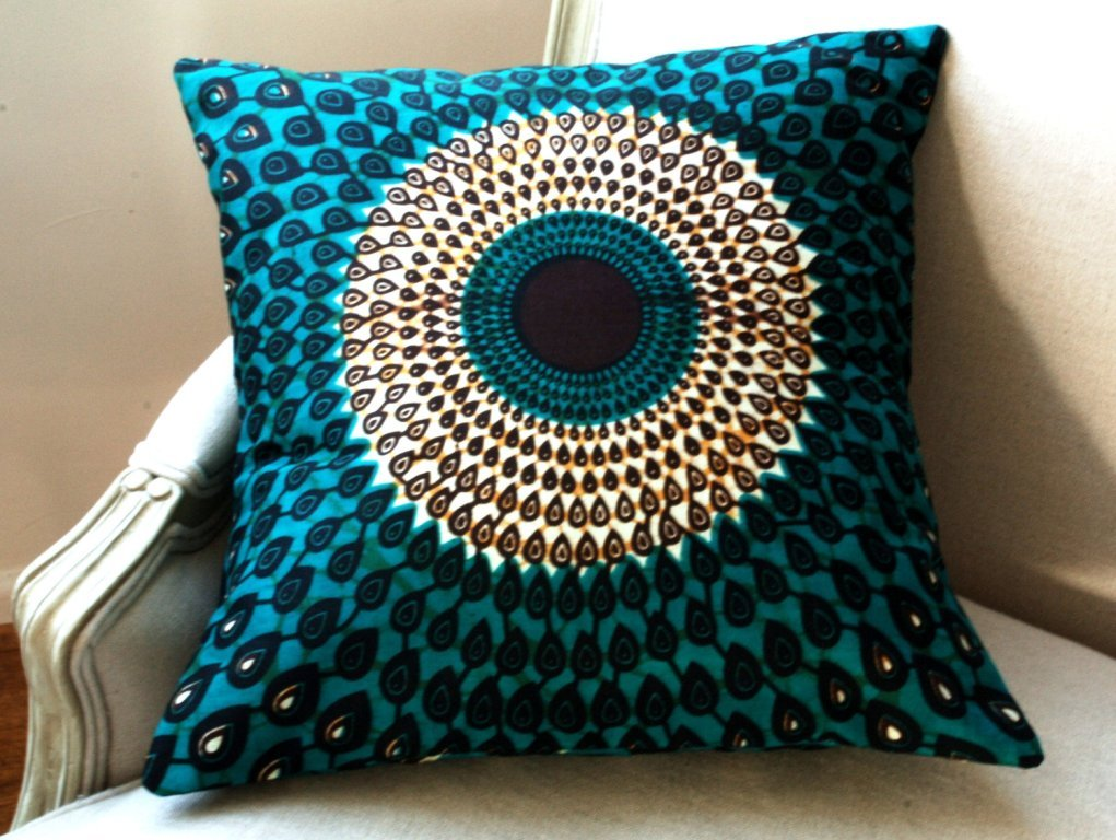 Peacock Pillow Sewing Pattern