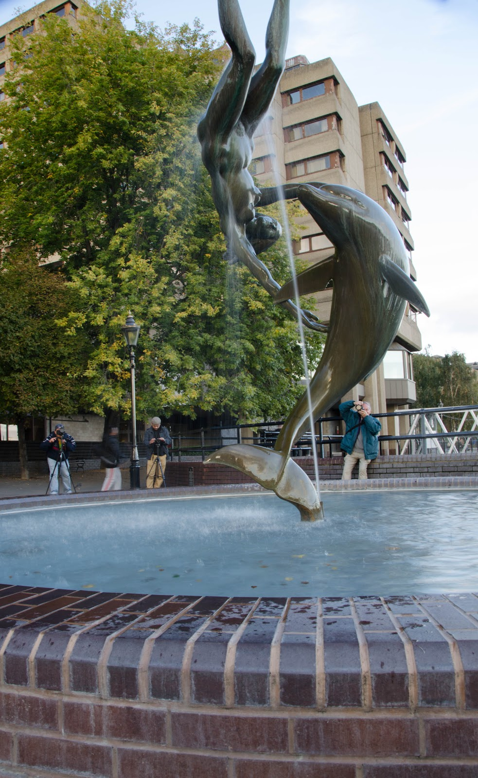 Image of: Perfect Dolphin Water Fountain