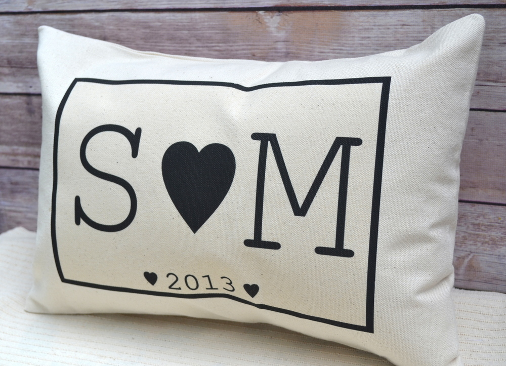 Image of: Personalized Pillow Case